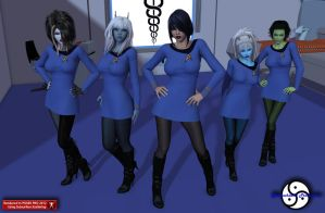 Welcome to Sickbay how can we help? by ShadowhawkOne