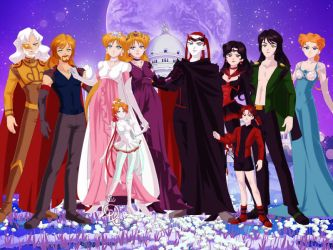 Royal Divine Family by TwistedWizzro343