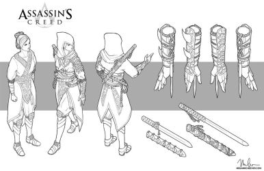 Assassin's Creed Mock Up by megillakitty
