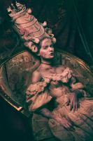 Marie Antoinette Walking Dead by Widmanska