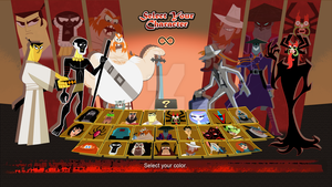 Samurai Jack: Fight for the Future Roster by nekomaster1000