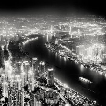 Shanghai - Huangpu River by xMEGALOPOLISx