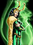 Lady Loki by grivitt