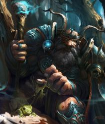 Dwarf Forester by GansOne89