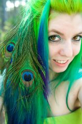 Miss Peacock by lizzys-photos
