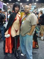 Vampirella Cosplay and Me by MichaelCrichlow