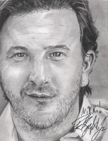 Speight Graphite Portrait Signed by DragonPress