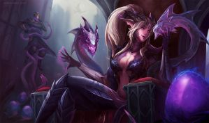 Dragon Sorceress Zyra by MarianaEnnes