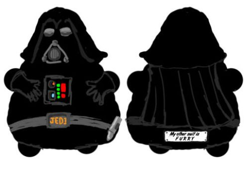 Fat Darth Vader by yousorrymon