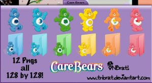Care Bears V1 png by TNBrat