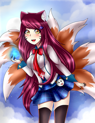 Academy Ahri by LarraLy
