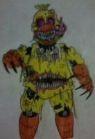 Twisted Chica by FreddleFrooby