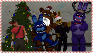 (SFM/Christmas Gift/Special) Pictures with Santa by Fazband83