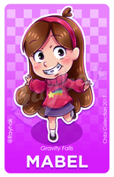 Mabel Pines [Chibi Collection] by Rayhak