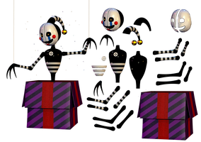 Resource Security Puppet (Reguest) by Fnaf-fan201