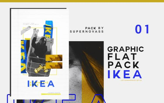 Ikea | Graphic Flatpack by lottesgraphics