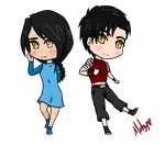 CM: Yuuna and Zinan -Moonlighthour by MelzyV