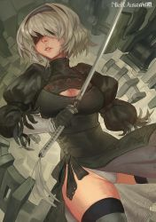 NieR:Automata - YoRHa No2Type-B by Pizza-Surgeon