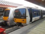 CR 168 110 and 165 006 at Birmingham Moor Street by BoomSonic514