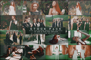 Stock Pack No 1 :: PSD Coloring Preview Images by barques