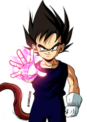 kid vegeta by Sandra-delaIglesia