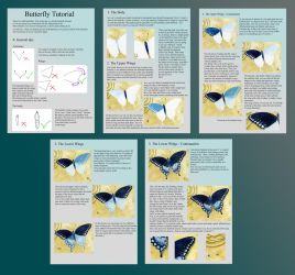 Butterfly Tutorial by LucieOn