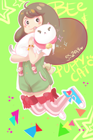 Bee + Puppycat by GiselleRocks