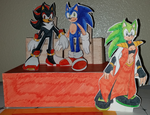 Sonadow Papercraft - Now With More HermScourge by SonicRemix