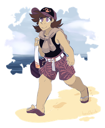 Breaking News: Local dump goes to the beach by BeefBirb