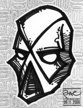 Robot Hero Mask 09112009 by aquiresville