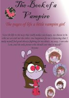 The Book of a Vampire Cover by RegularBluejay-girl