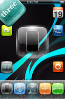 three theme for iPhone by version3