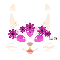 Flower Pup by June-Buggie