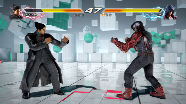 Tekken 7 (PC) Transparent Health And Rounds FINAL by TheI3arracuda