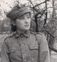 Polish Female soldier WW2 Kosciuszko Division by UniformFan