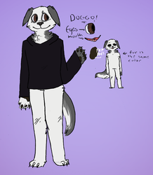 Doggo Ref (sona//temp ref) by maddy-the-doggo