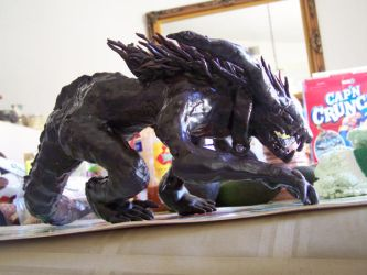 Wax Dragon WIP4 angle 1 by FreeTheCows