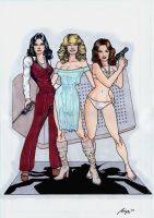 Charlie's Angels Commission by Barracuda9999