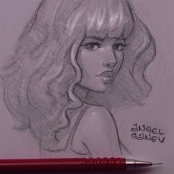 Heavy Bangs - Day #255 by AngelGanev