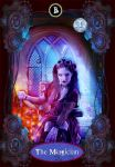 Steampunk Tarot Card by Renata-s-art