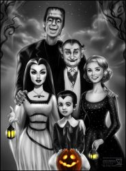 The Munsters by daekazu