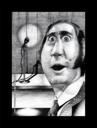 Andy Kaufman by happydragonpictures