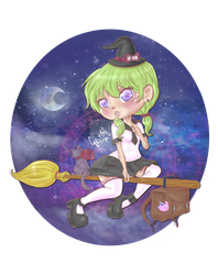 Little Witch by chas-rani
