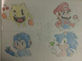 Happy New Year 2016 by SuperMLbros