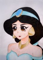 Princess Jasmine by Emmabro14