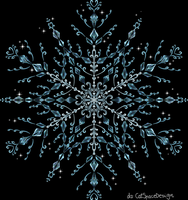 Snow Crystal by CatSpaceDesign