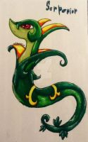 Serperior drawing by xxmidnight12xx