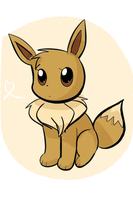 Eevee by AnySketches