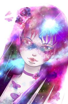 Galaxy Girl by PoeticTorment