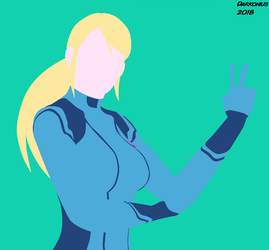 Samus Silhouette by Darkonius64